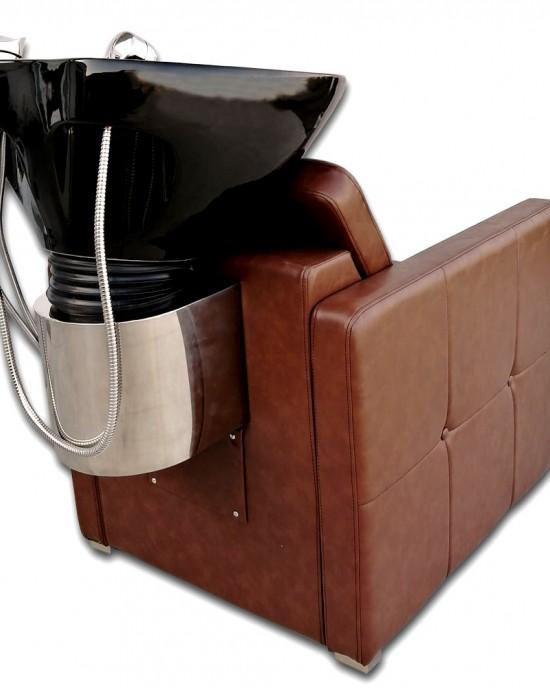 Unitate de spalare pentru coafor - frizerie Brown Dalya